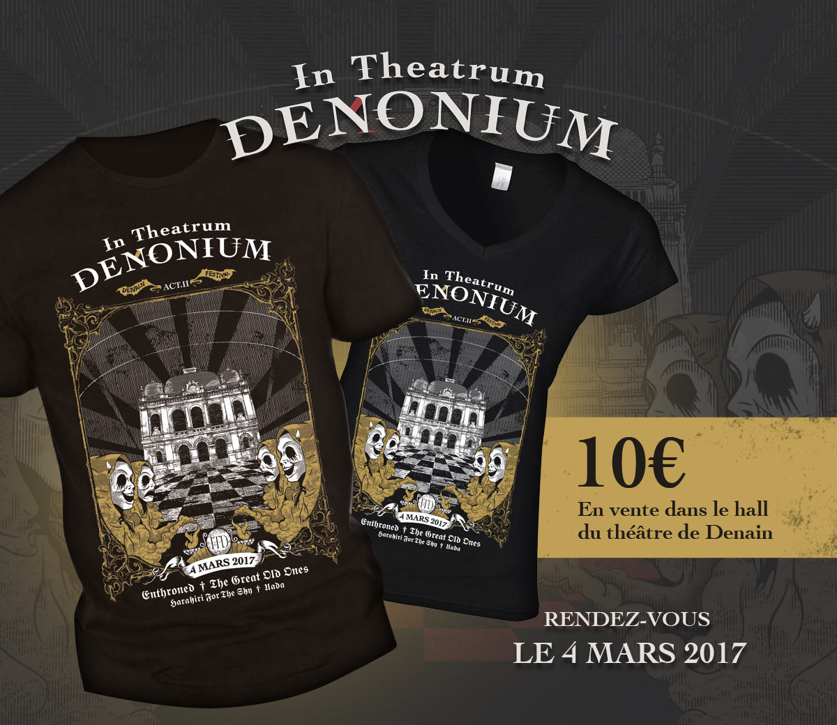 t-shirt_intheatrumdenonium2017_denain