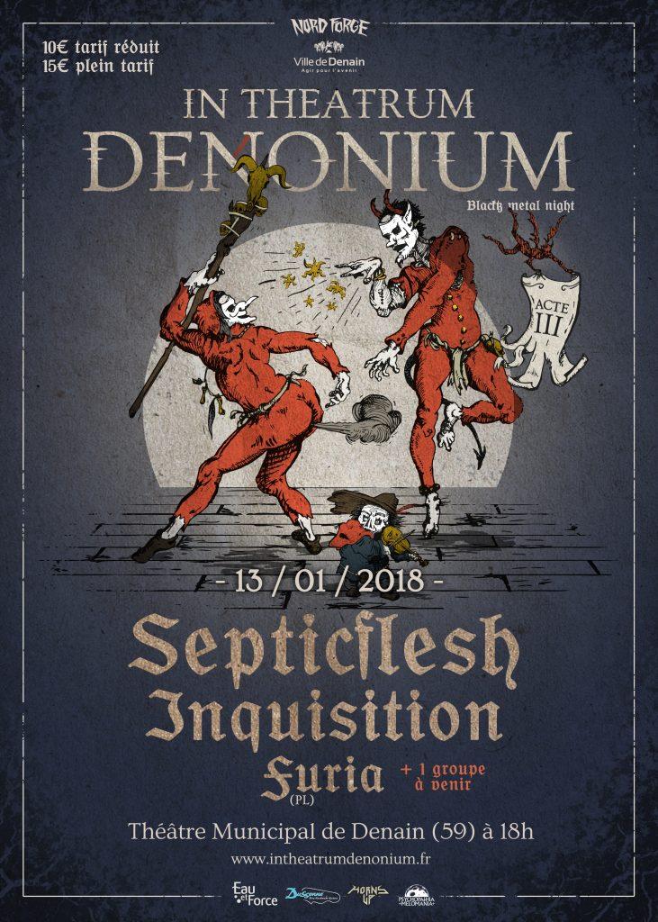 In Theatrum Denonium affiche